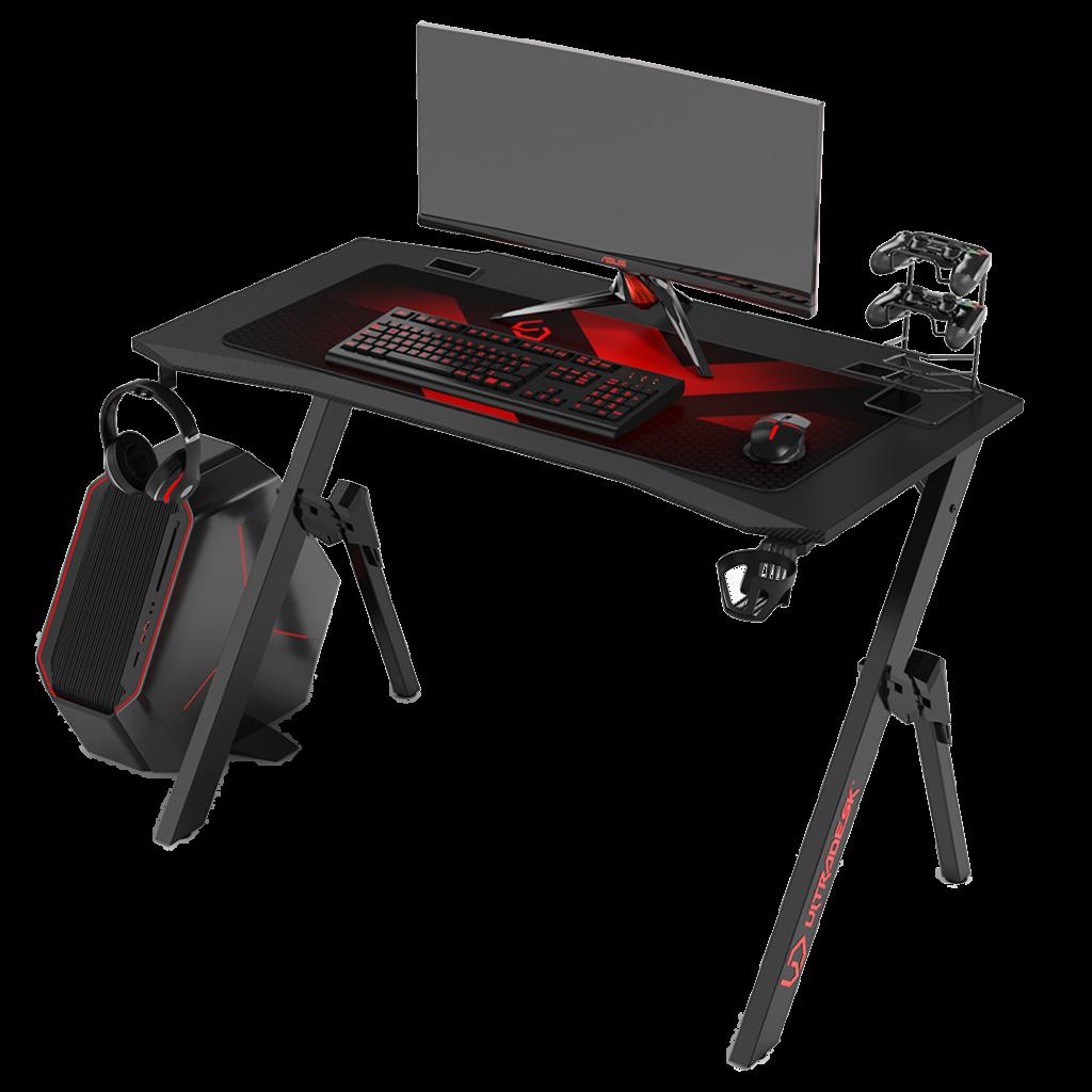 Gaming Tisch Schreibtisch Computertisch Ultradesk Frag Rot